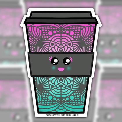 Coffee Latte Sticker