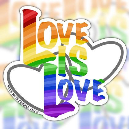 Pride LoveIs Love Sticker
