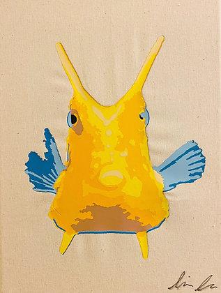 Longhorn Cowfish Canvas