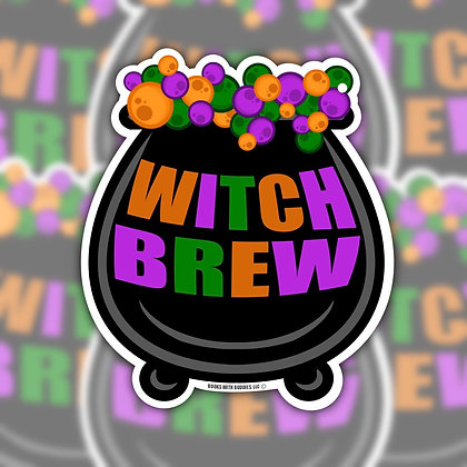 Cauldron Sticker