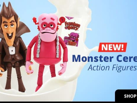 ENTERTAINMENT EARTH HAS GREAT MONSTER CEREAL ACTION FIGURES!