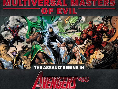 MARVEL COMMEMORATES 750 ISSUES OF AVENGERS IN GIANT-SIZED EPIC WITH A NEW TEAM OF VILLAINS, SHOCKING