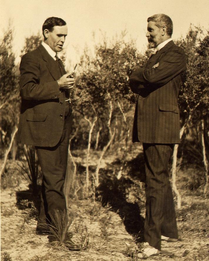 William Alexander Watt long time friend