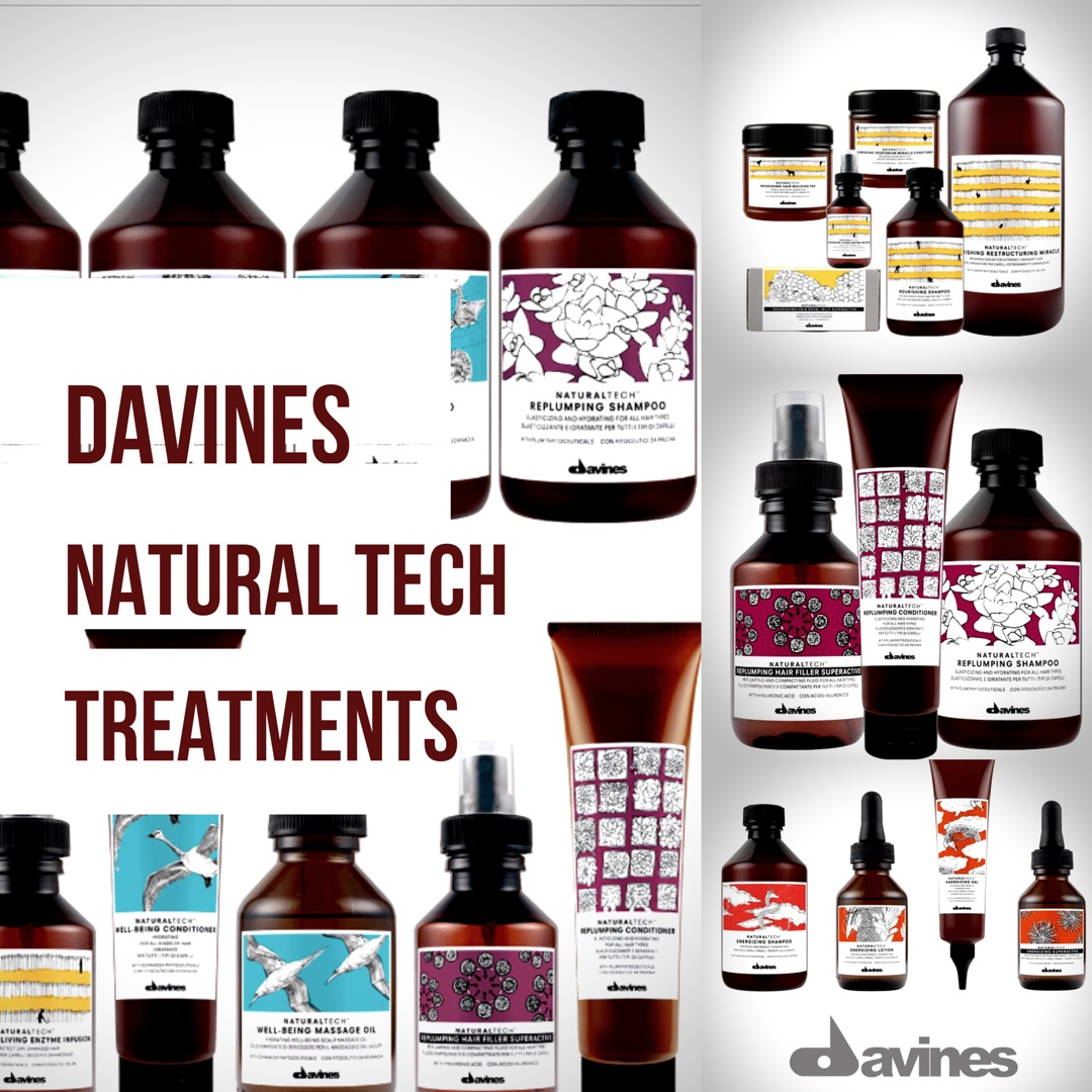 Davines Natural Tech Treatments