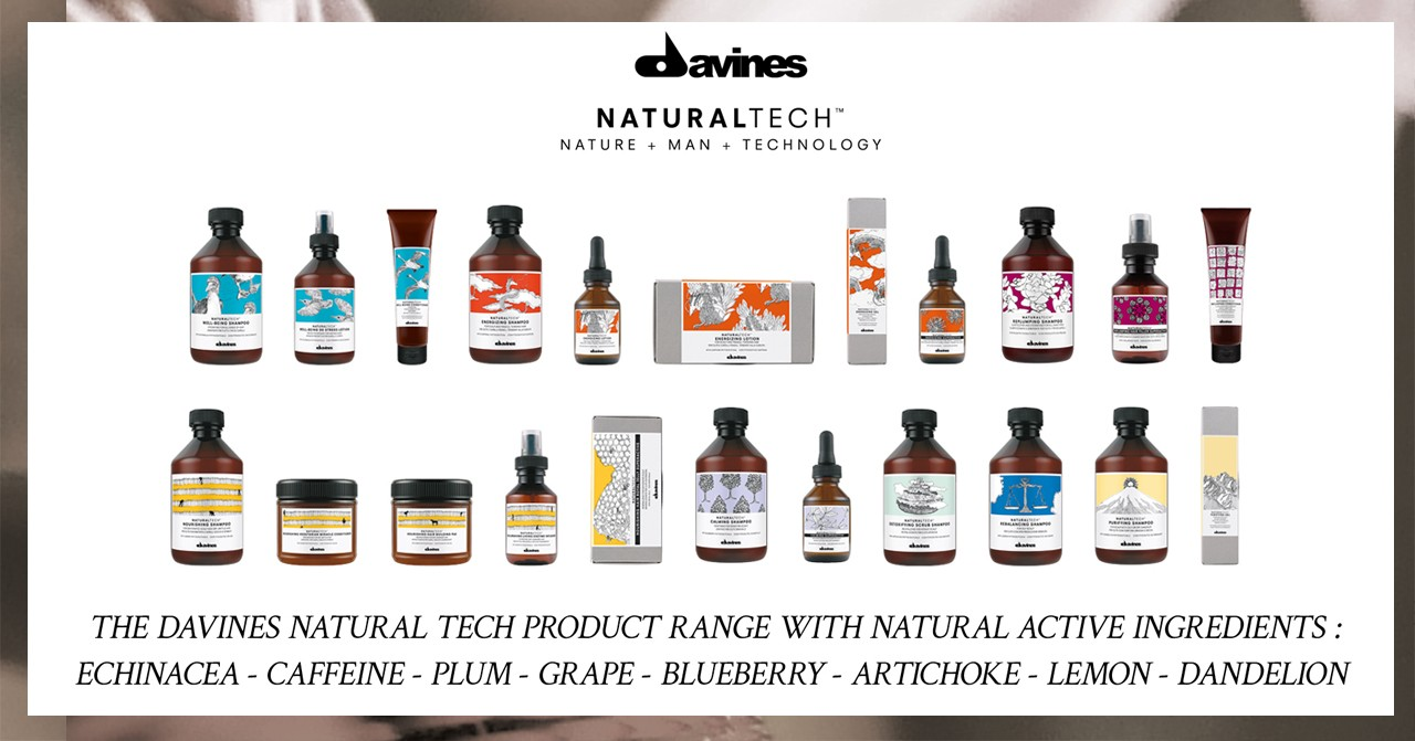 Get to know the full line of Davines
