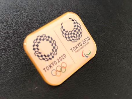 オリンピック・パラリンピックバッチプレゼント