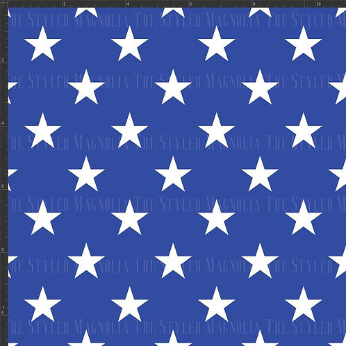 PICK-A-PRINT: STARS ON BLUE (SMALL & LARGE SCALE)