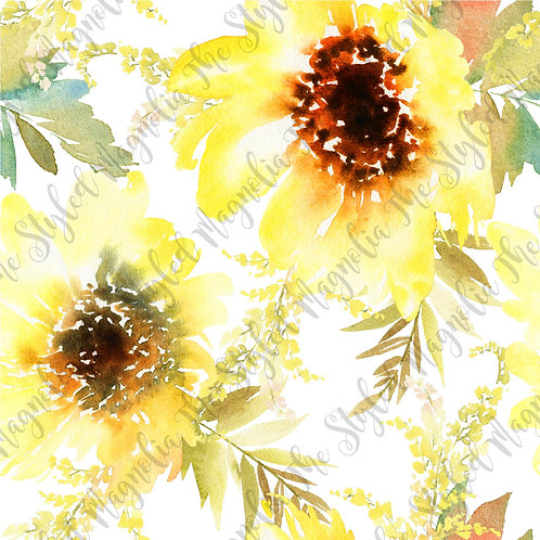 PICK-A-PRINT: STELLA'S SUNFLOWERS