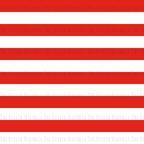 PICK-A-PRINT: RED .5IN STRIPES
