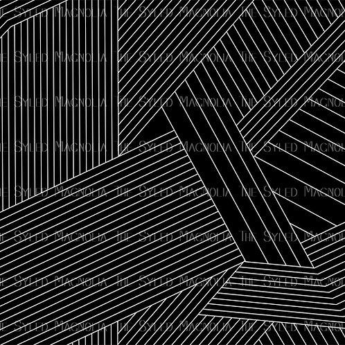 MONOCHROME RETRO LINES