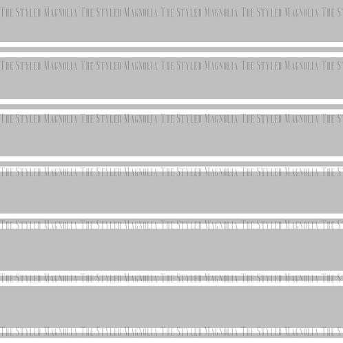 PICK-A-PRINT: GRAY WITH DOUBLE WHITE LINES