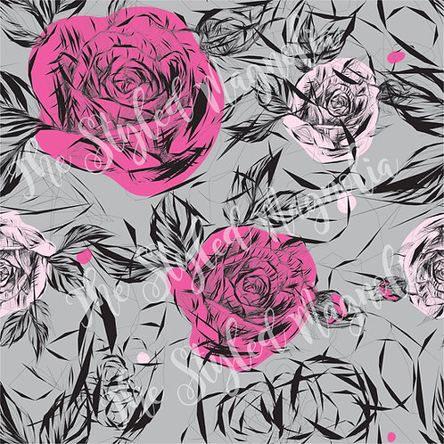 PICK-A-PRINT: PRETTY IN PINK ROSES