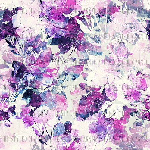 PICK-A-PRINT: LAVENDER FLOWERS