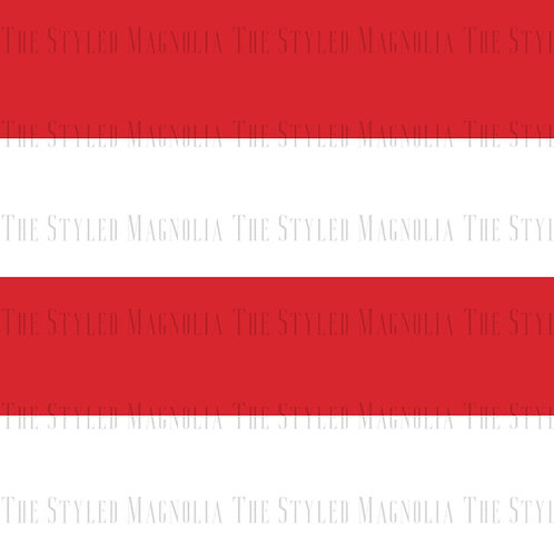 PICK-A-PRINT: TWO AND A HALF INCH RED STRIPES