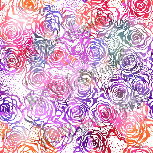 PICK-A-PRINT: SUNRISE ROSES