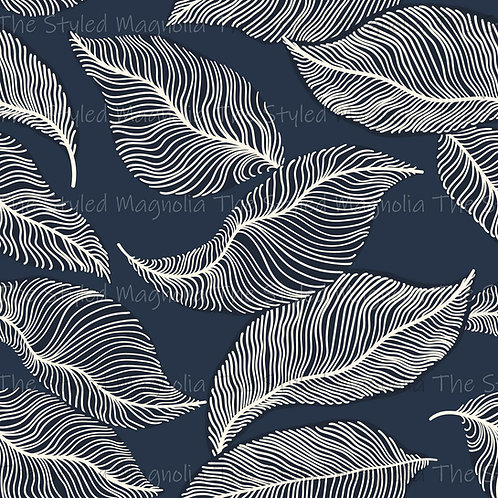 PICK-A-PRINT: ABSTRACT LEAVES