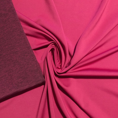 DOUBLE SIDED POLYESTER SPANDEX BLEND