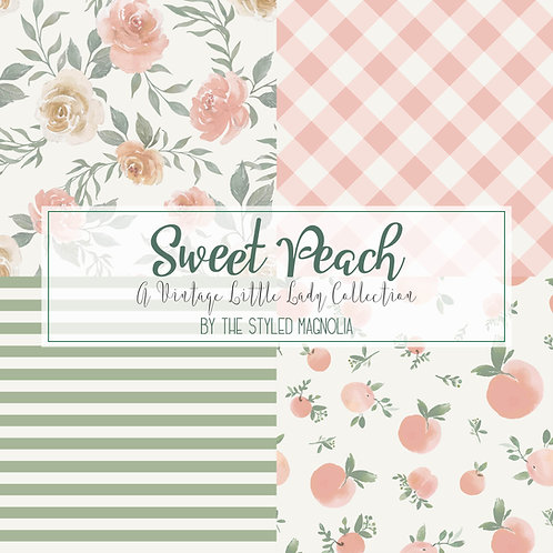 PICK-A-PRINT: VINTAGE LITTLE LADY SWEET PEACH COLLECTION