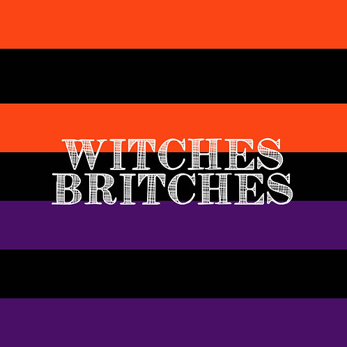 PICK-A-PRINT: STATEMENT STRIPES - WITCHES BRITCHES (1.5 YARD PANEL