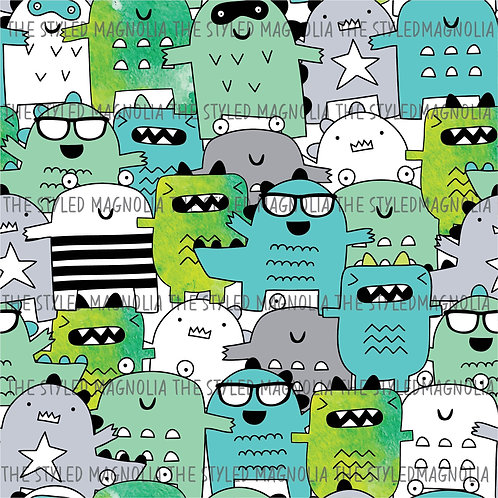 PICK-A-PRINT: COOL MONSTERS