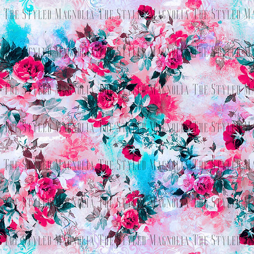 PICK-A-PRINT: PAINTED ROSES