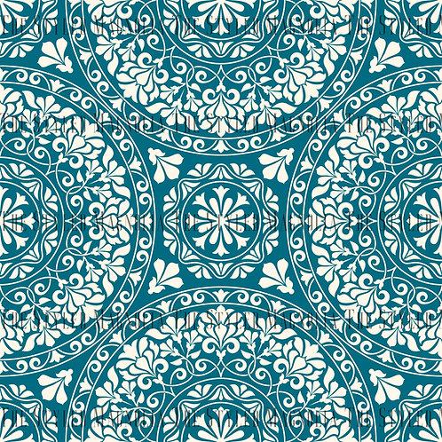 REMNANT: 57IN COTTON LYCRA (180GSM) - BOUNDLESS (LT. BLUE)