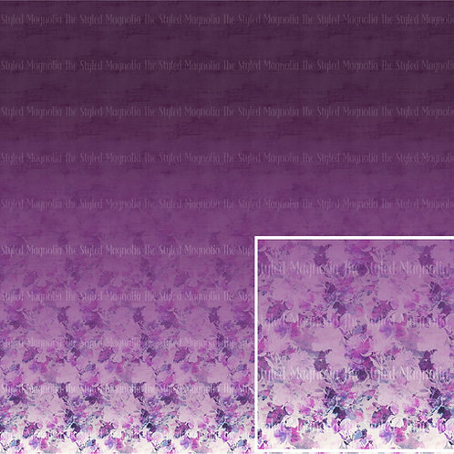 PICK-A-PRINT: PURPLE HAZE (1.5 YARD PANEL)