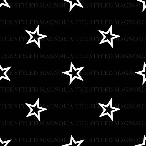 PICK-A-PRINT: MONOCHROMATIC OPEN STARS