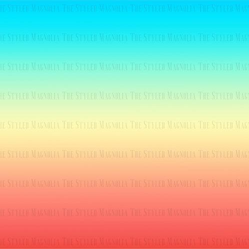MALIBU SUNRISE OMBRE (1.5 YD PANEL)