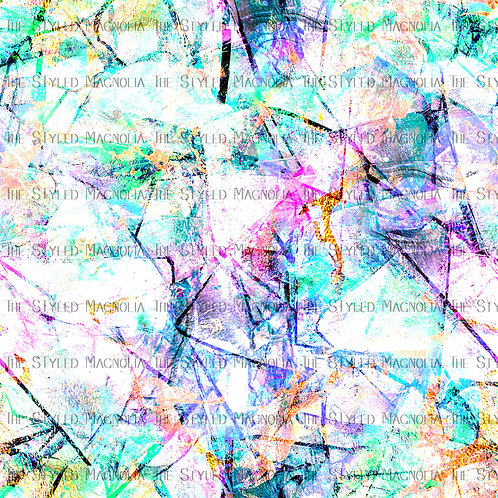 COLORFUL SHATTERED GLASS