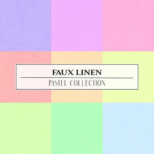 PASTEL COLLECTION - FAUX LINEN