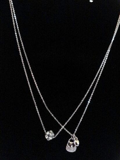 Girls 2pc Necklace Set