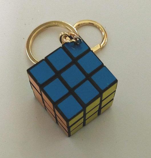 Mini Rubik's Cube Keychain