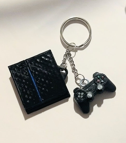PS4 Console w/Controller Keychain