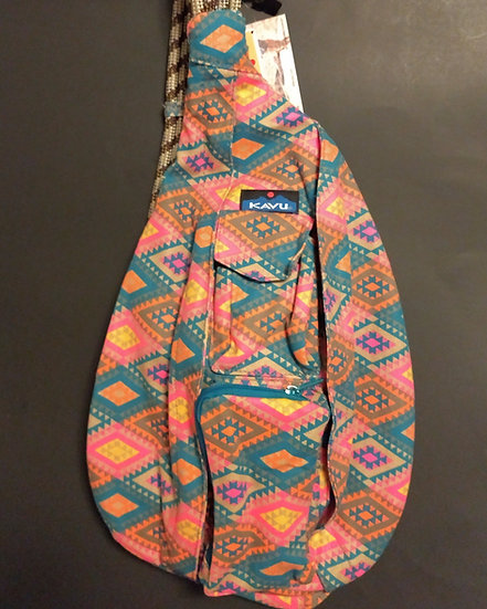 Orange & Green Aztec Print Kavu Rope