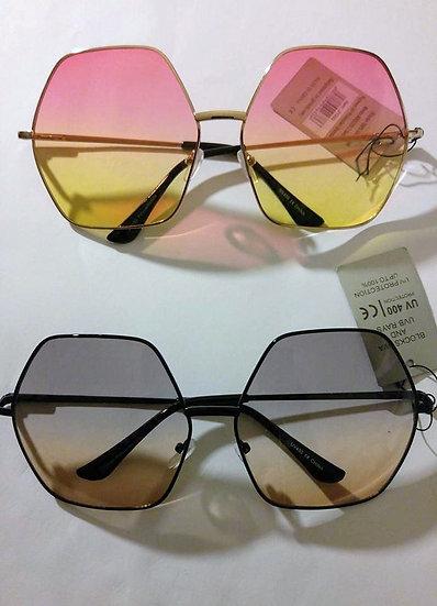 Oversized Mirror Len Sunglasses
