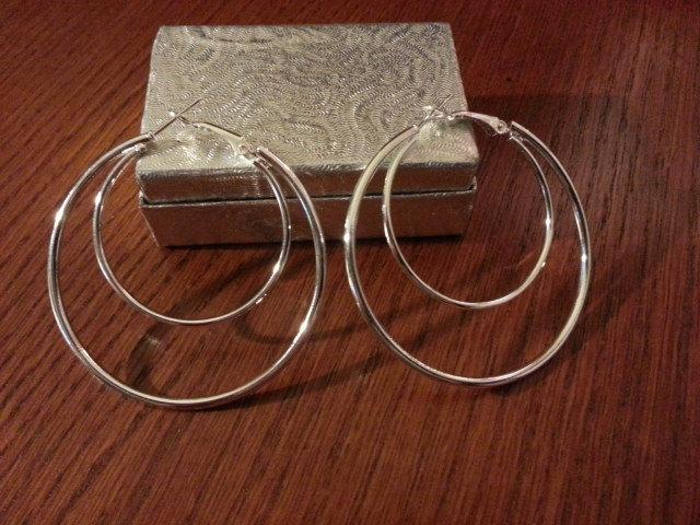 Genuine Sterling Silver Earrings