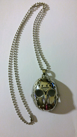 Jason Mask Stainless Steel Necklace