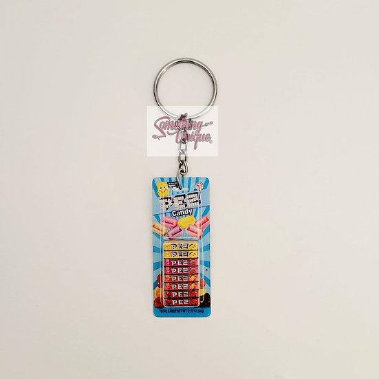 Pez Pack Keychain
