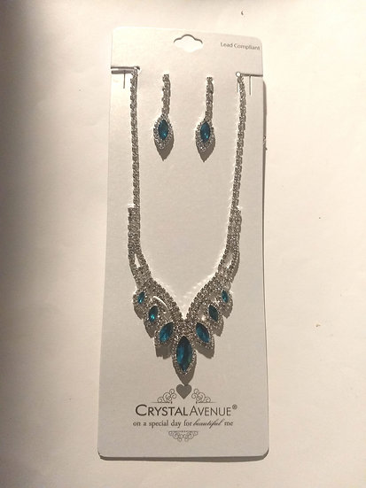 Formal Necklace & Earring Set