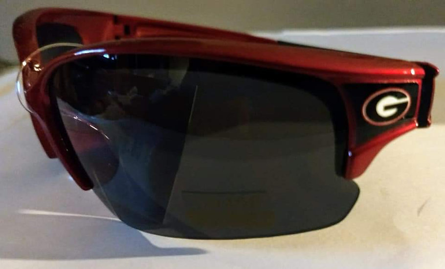 Licensed Collegiate Georgia Bulldogs Sunglasses