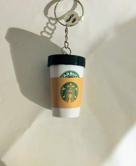 Starbucks Coffee Tumbler Keychain