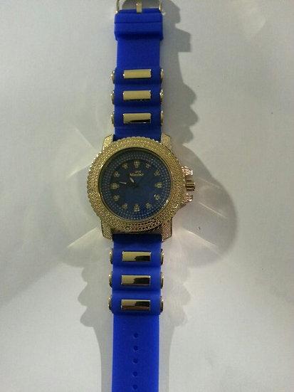 Blue & Gold Watch
