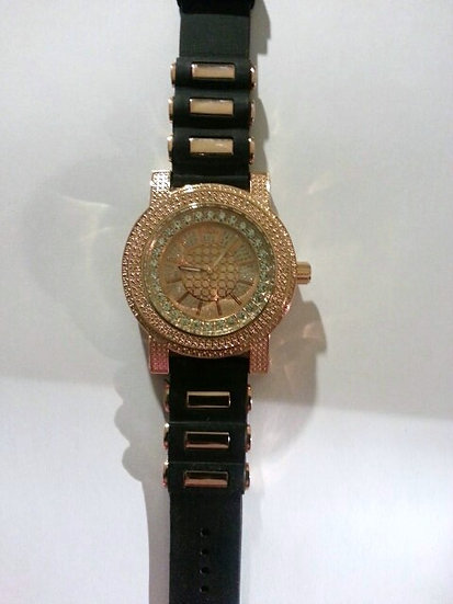 CZ & Gold Watch