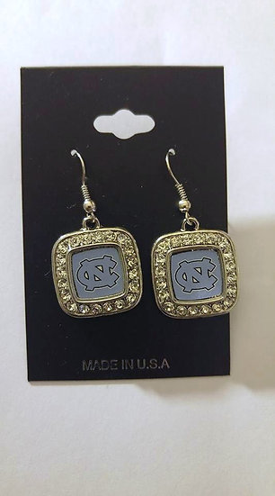 NC Tar Heel Earrings
