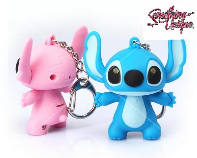Lilo & Stitch Light & Sound Keychain