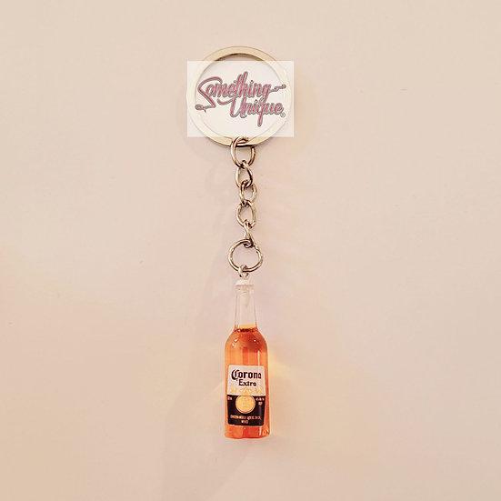 Corona Bottle Keychain