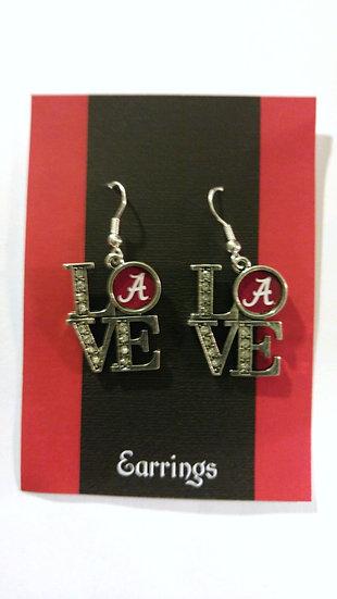 Alabama Love Earrings