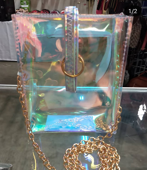 Clear Crossover Purse