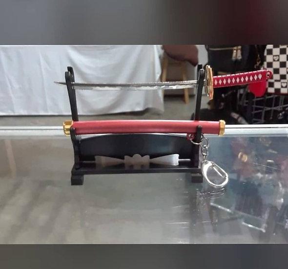 Sword Keychain Stand